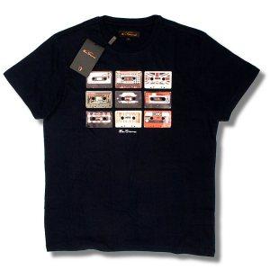 Ben Sherman Cassette T Shirt Navy
